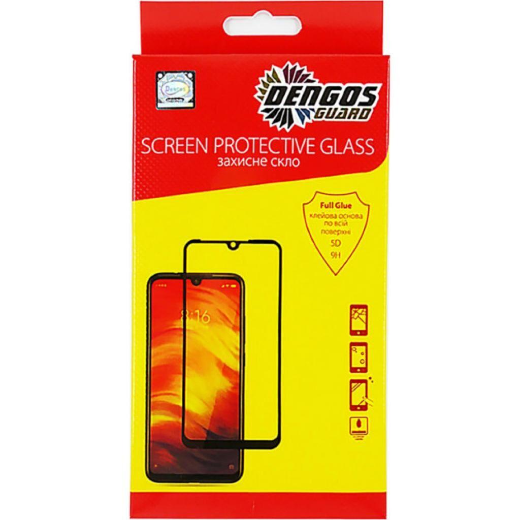 Стекло защитное DENGOS Full Glue Samsung Galaxy S20 FE, black frame (TGFG-154)