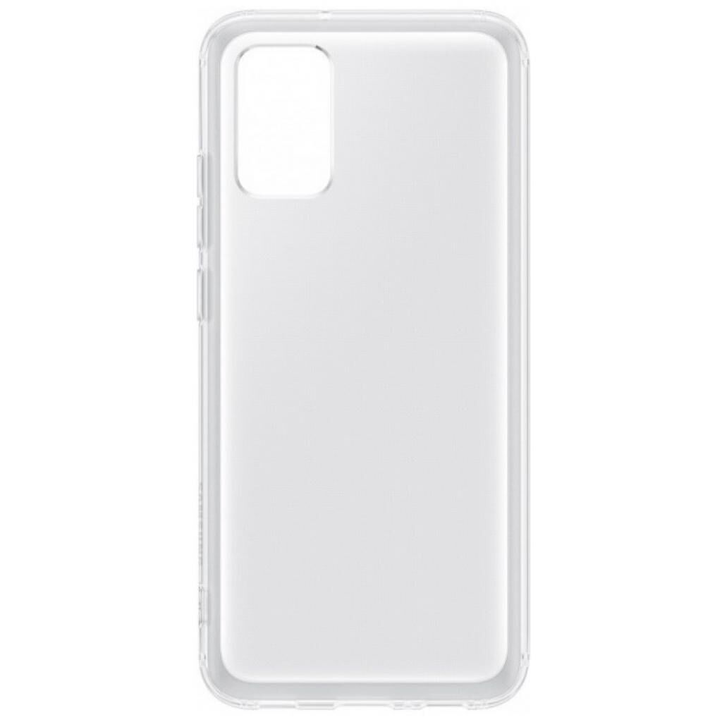 Чехол для моб. телефона Samsung Soft Clear Cover Galaxy A02s (A025) Transparent (EF-QA025TTEGRU)