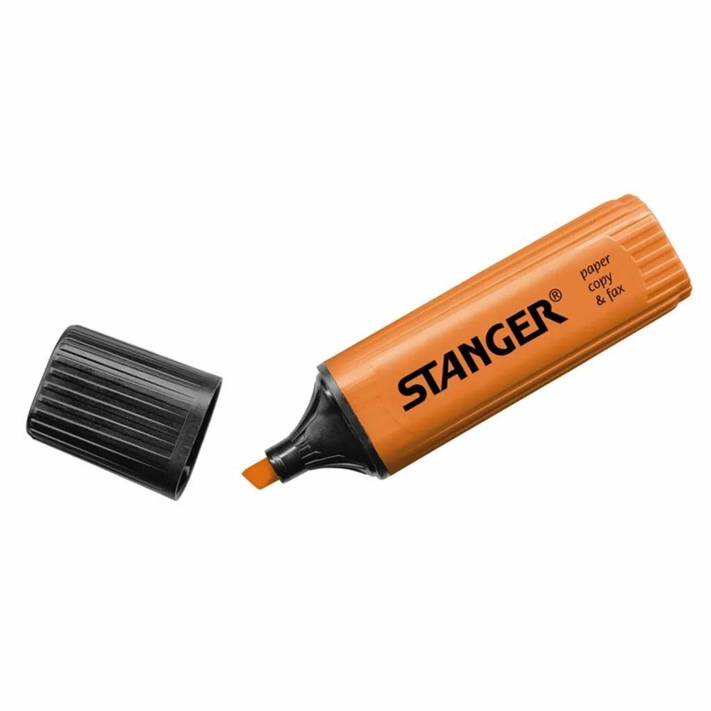 Маркер Stanger текстовый оранжевый 1-5 мм (180002000)