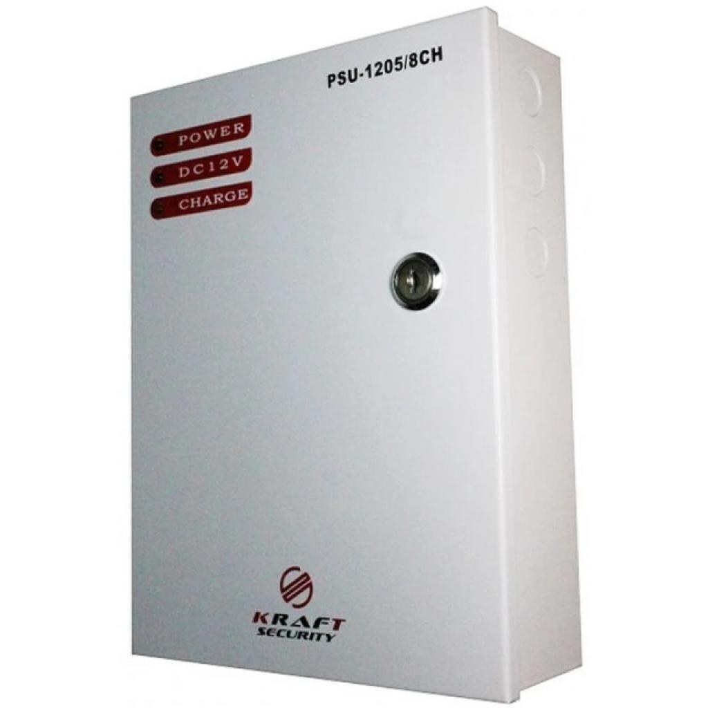 Блок питания для систем видеонаблюдения Partizan PSU-1205LED/8CH