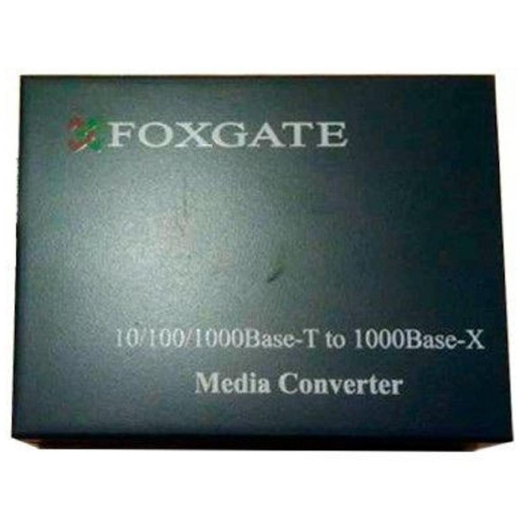 Медиаконвертер FoxGate 10/100/1000Base-T RJ45 to 1000Base-SX/LX SFP slot (EC-SFP1000-FE/GE-LFP)