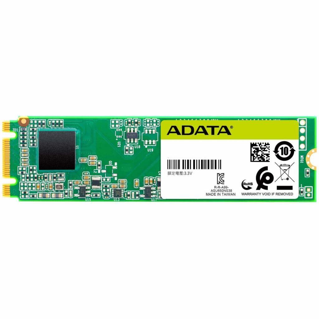 Накопитель SSD M.2 2280 240GB ADATA (ASU650NS38-240GT-C)