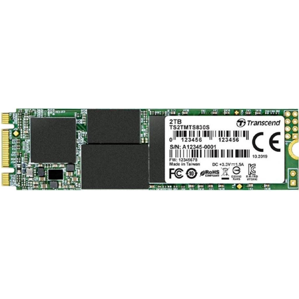 Накопитель SSD M.2 2280 2TB Transcend (TS2TMTS830S)