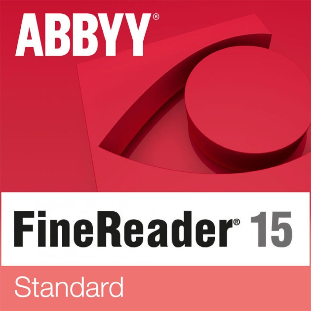 ПО для работы с текстом ABBYY FineReader 15 Standard, Single User License (ESD), GOV/NPO (FR15SW-FGPL-X)
