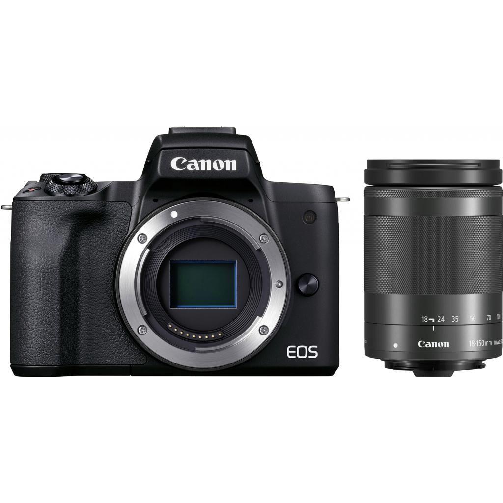 Цифровой фотоаппарат Canon EOS M50 Mk2 + 18-150 IS STM Kit Black (4728C044)
