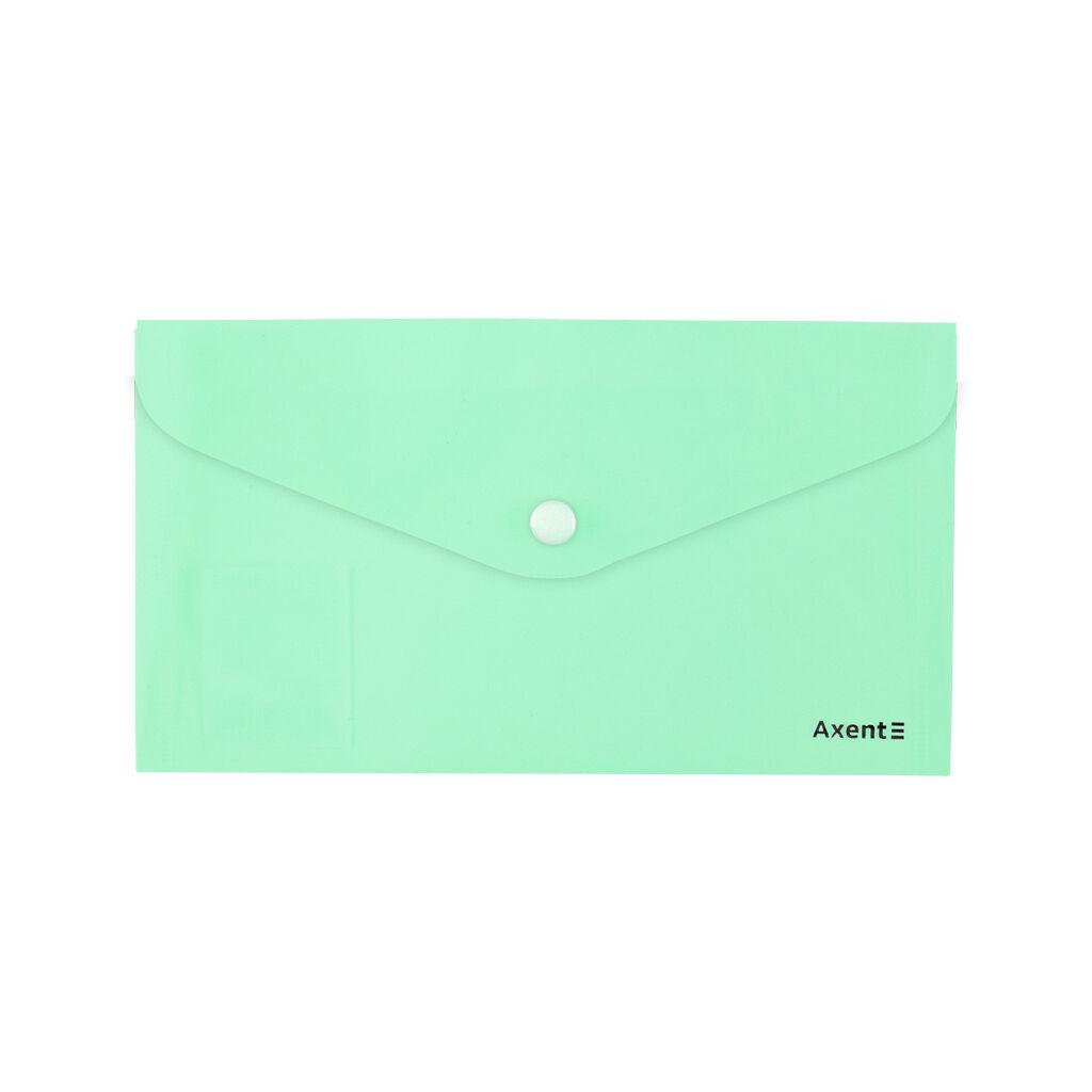 Папка - конверт Axent DL 180мкм Pastelini Неомята (1414-09-A)