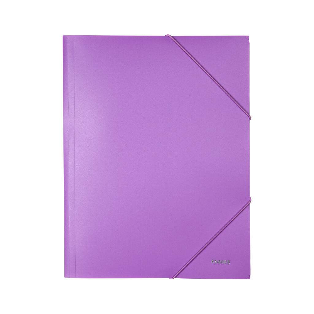 Папка на резинках Axent A4 430 мкм Pastelini lilac (1504-36-A)