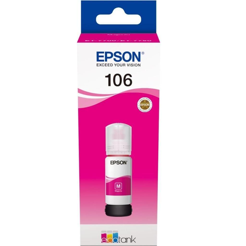 Контейнер с чернилами EPSON 106 magenta (C13T00R340)