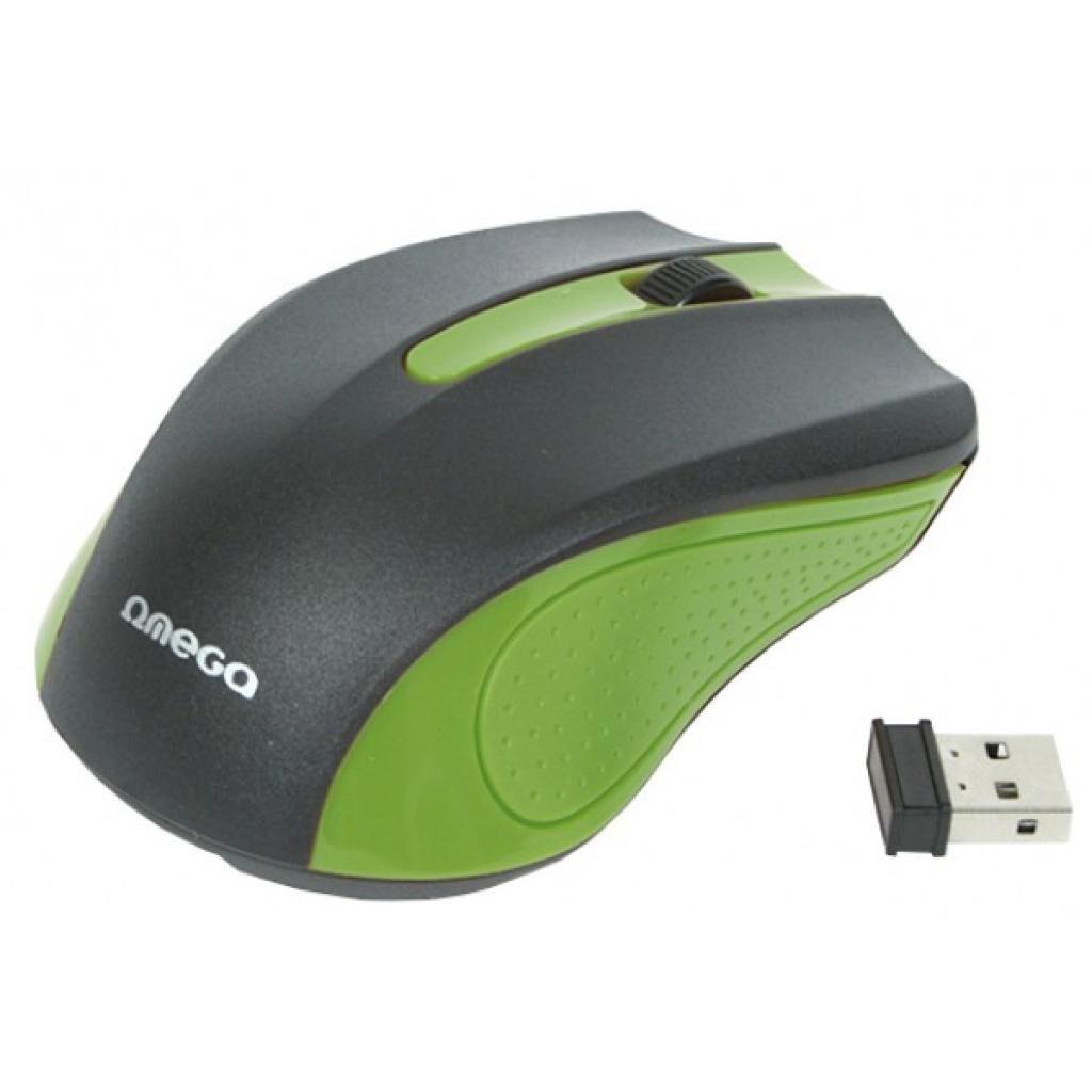 Мышка OMEGA Wireless OM-419 Green (OM0419G)