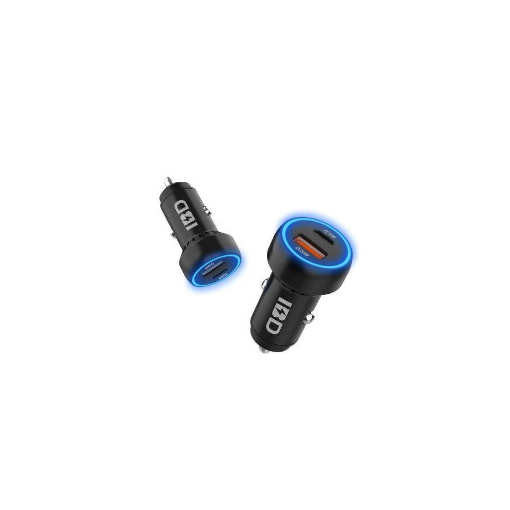 Зарядное устройство Trust 5W Car Charger BLACK (20151)