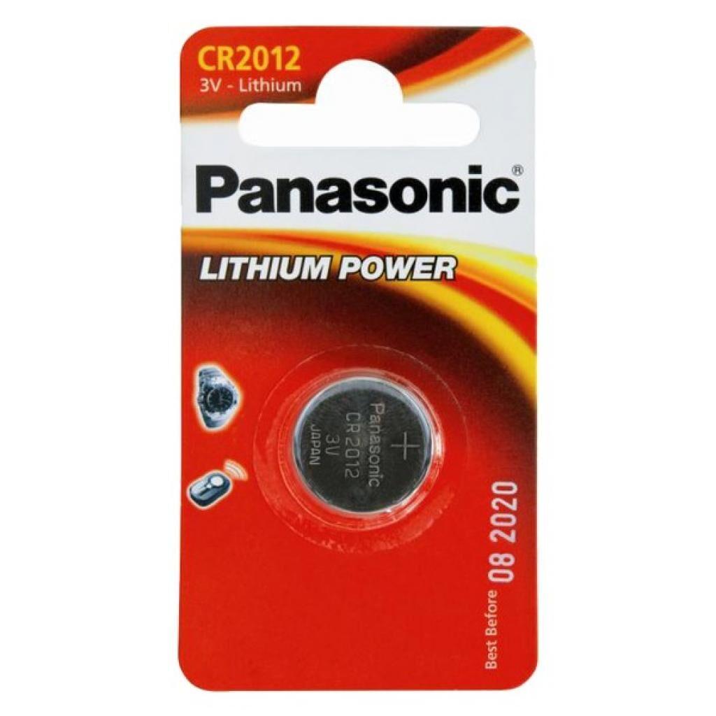 Батарейка CR 2012 Panasonic (CR-2012EL/1B)