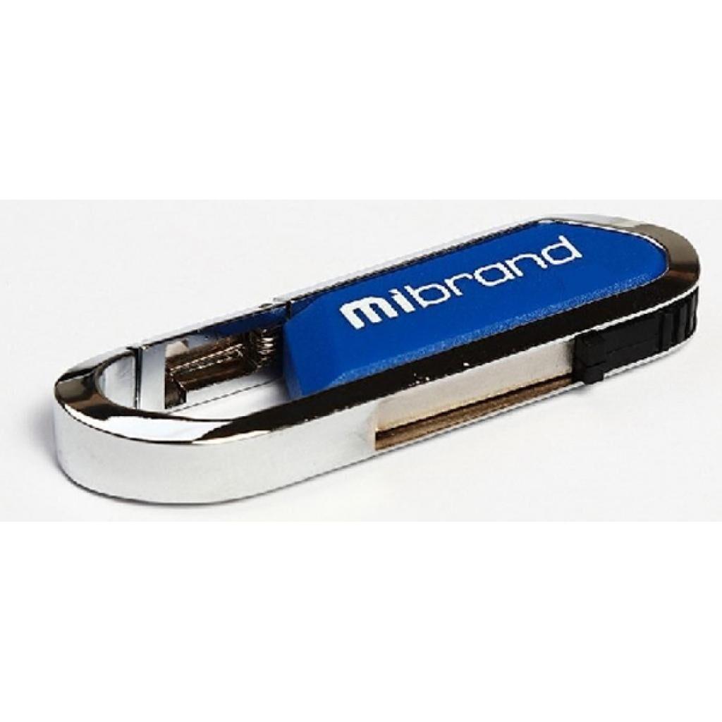 USB флеш накопитель Mibrand 8GB Aligator Blue USB 2.0 (MI2.0/AL8U7U)