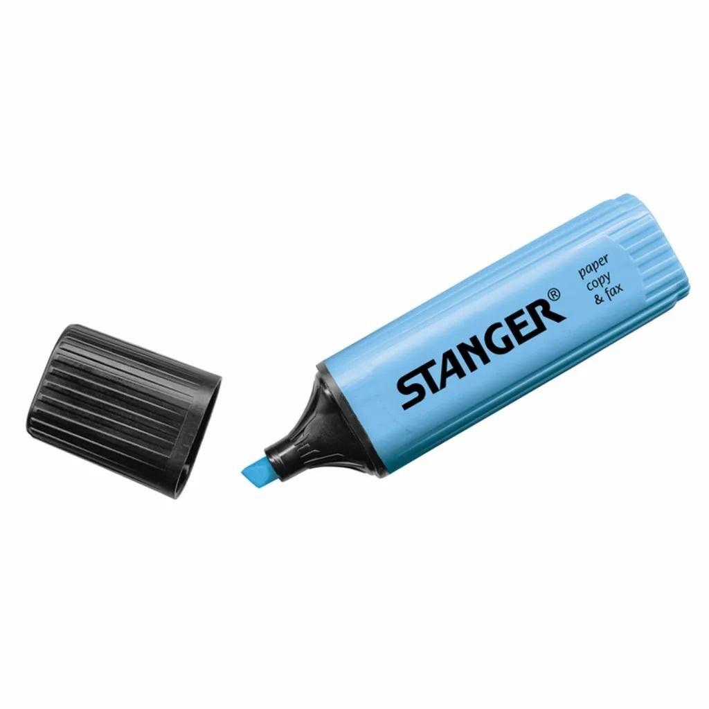 Маркер Stanger текстовый синий 1-5 мм (180005000)