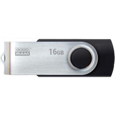 USB флеш накопитель Goodram 16GB Twister Black USB 3.0 (UTS3-0160K0R11)