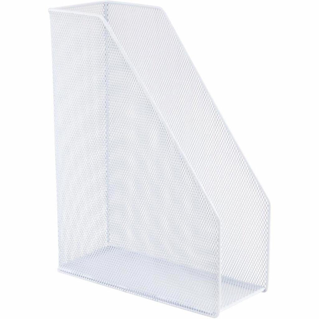 Лоток для бумаг Axent вертикальный 100x250x320 мм металлический Белый (2120-21-A)