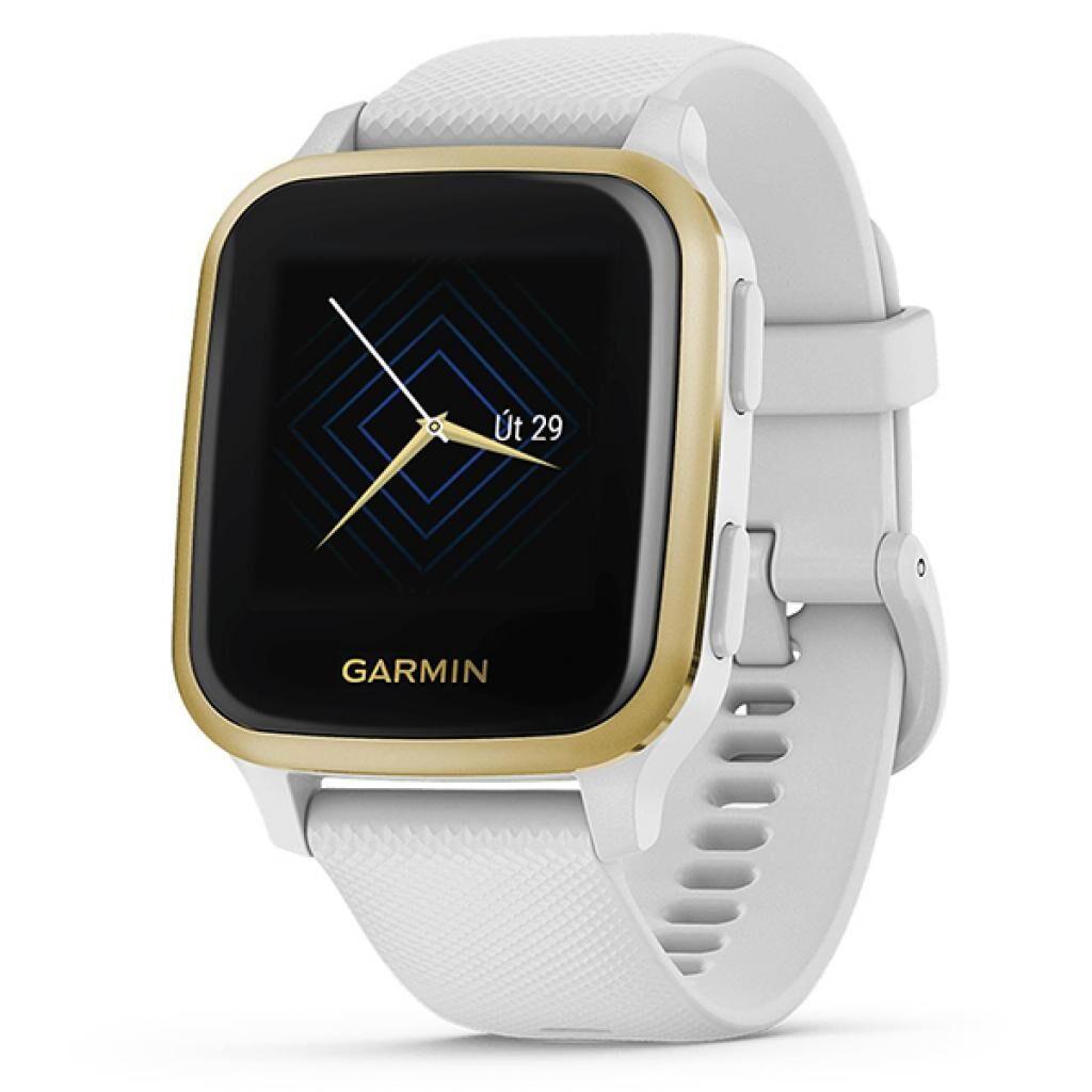 Смарт-часы Garmin Venu Sq, White/Light Gold (010-02427-11)