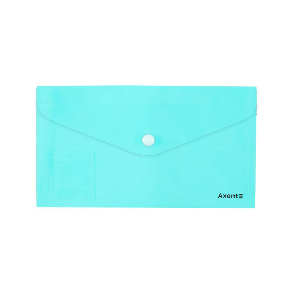 Папка - конверт Axent DL 180мкм Pastelini Мятная (1414-18-A)