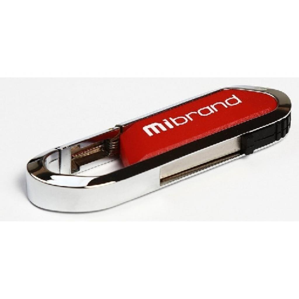 USB флеш накопитель Mibrand 8GB Aligator Red USB 2.0 (MI2.0/AL8U7DR)