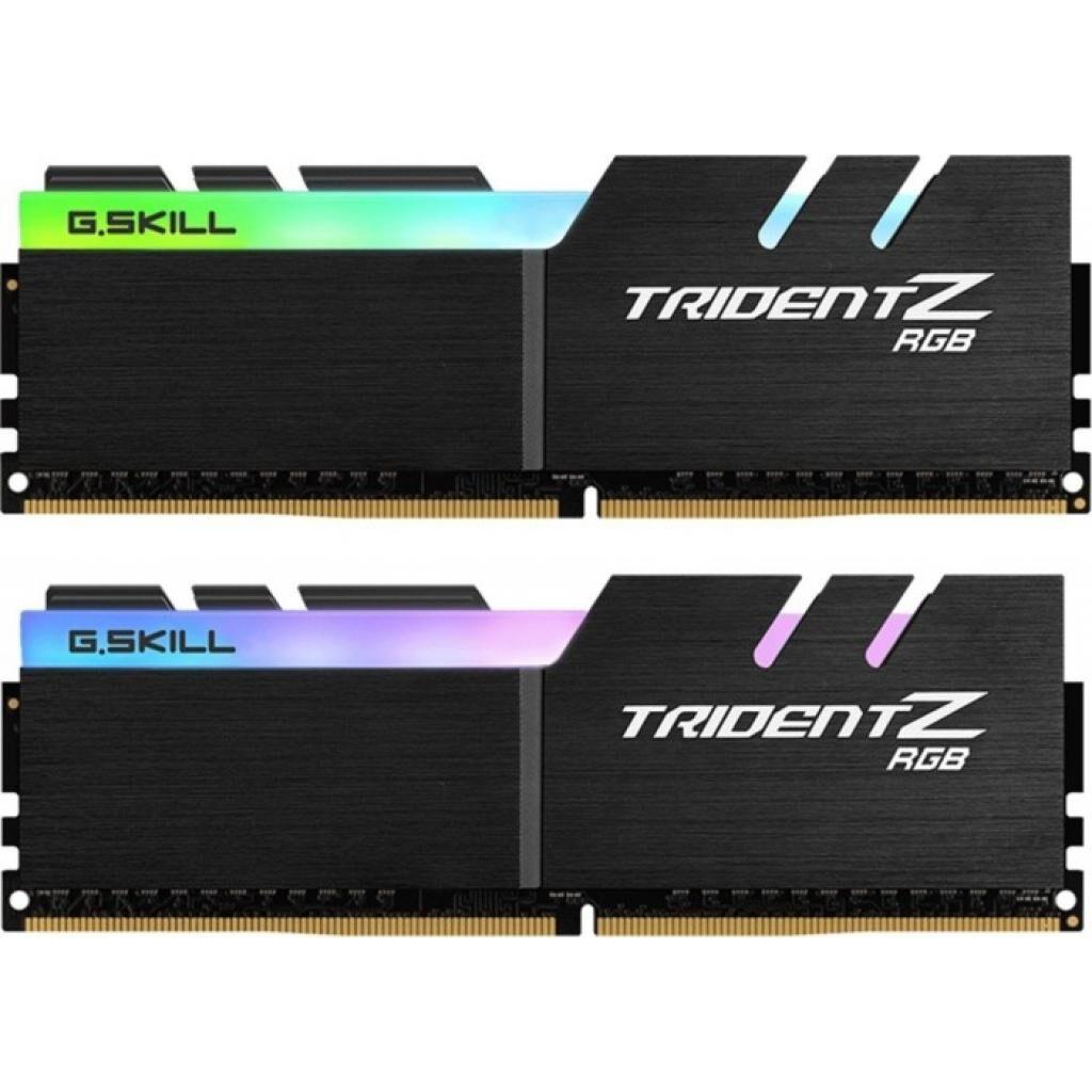 Модуль памяти для компьютера DDR4 64GB (2x32GB) 3600 MHz Trident Z RGB G.Skill (F4-3600C16D-64GTZR)