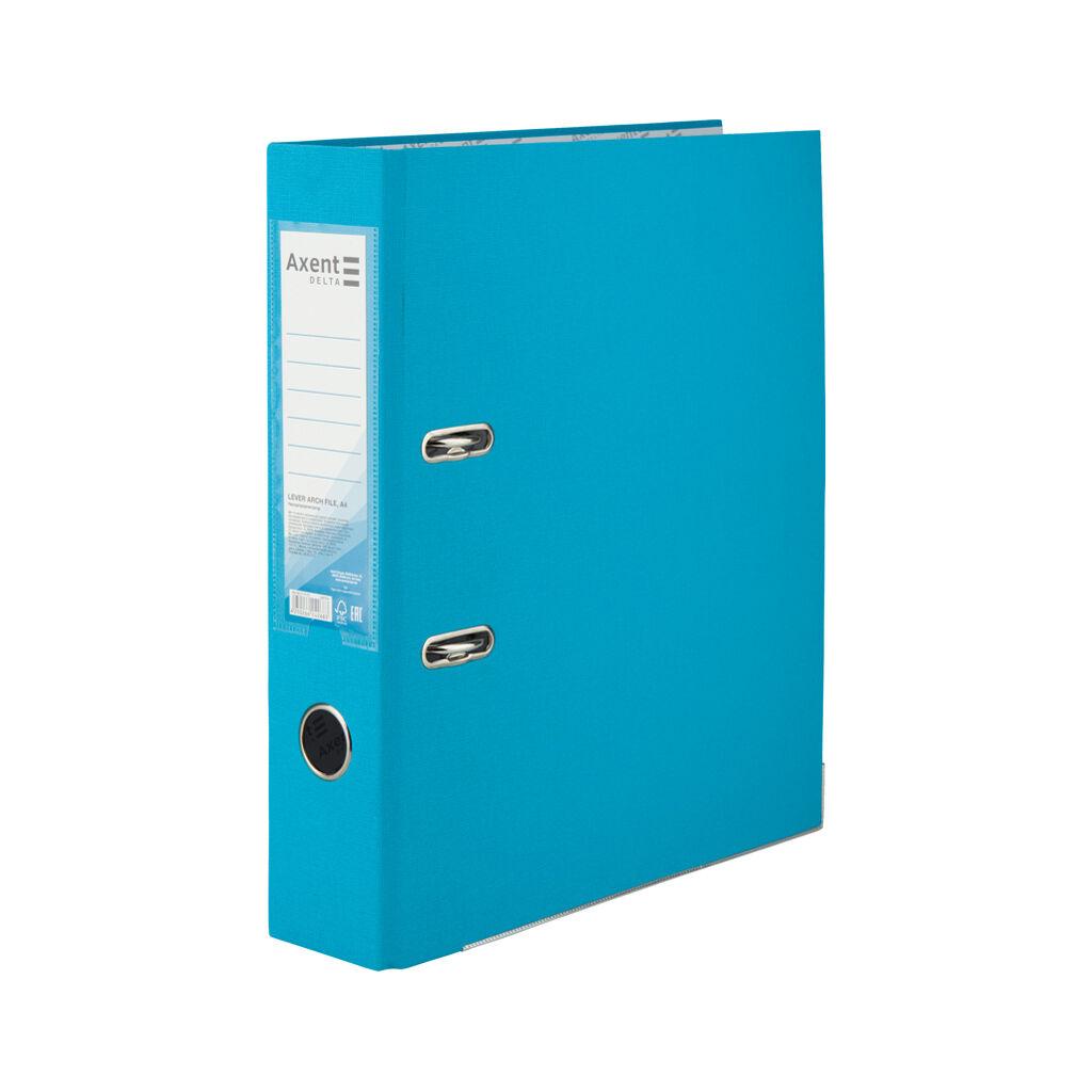 Папка - регистратор Delta by Axent А4 7,5 см РР Светло-голубая (D1714-29C)