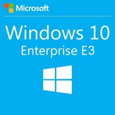 Операционная система Microsoft Windows 10 Enterprise E3 Upgrade 1 Year Corporate (39504991_1Y)