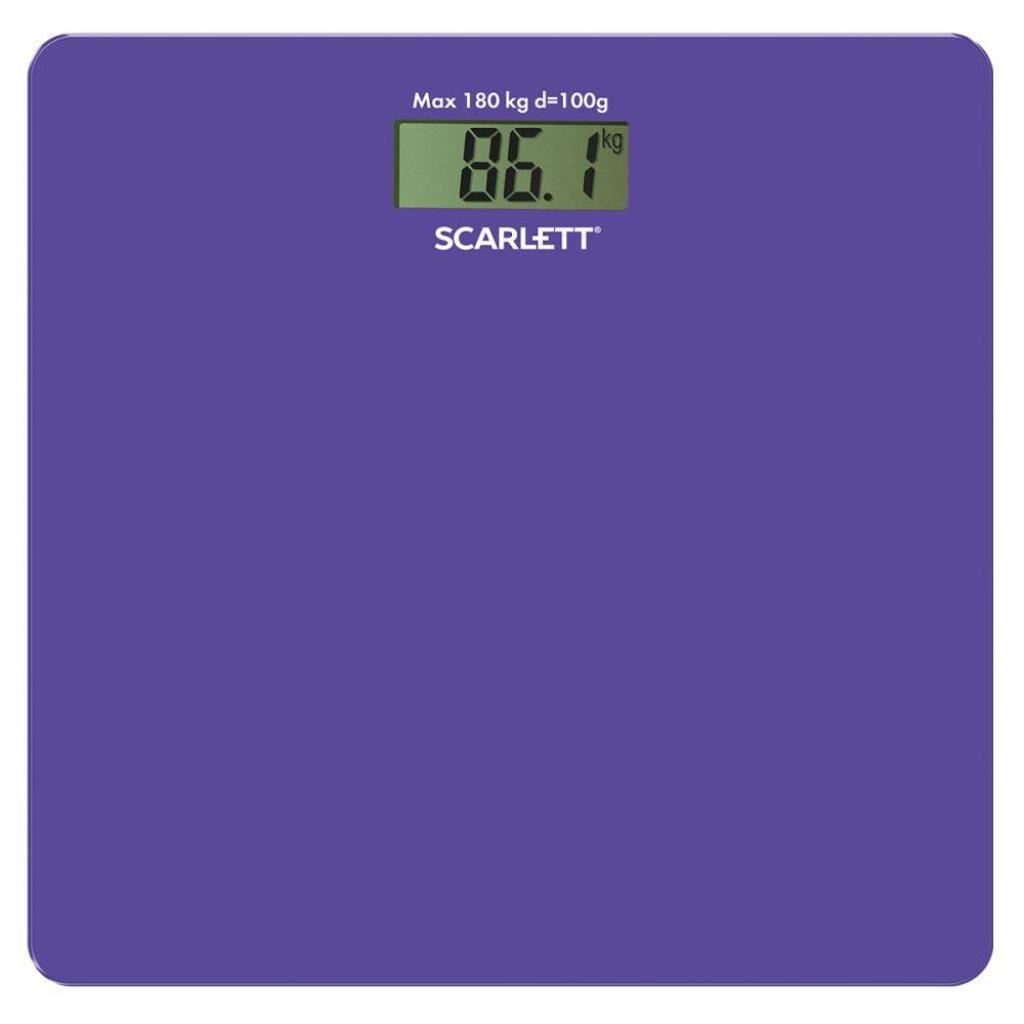 Весы напольные Scarlett SC-BS33E042
