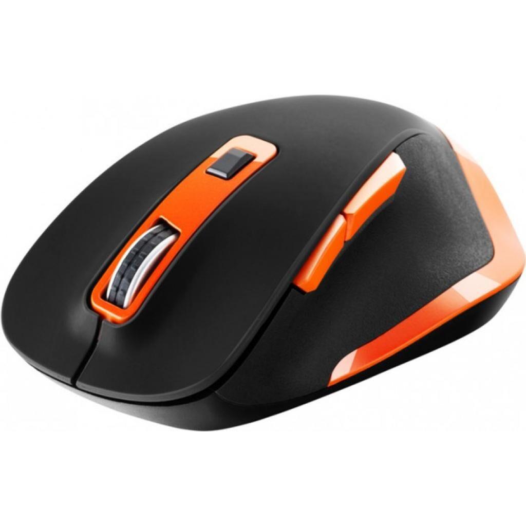 Мышка CANYON CNS-CMSW14BO Wireless Black-Orange (CNS-CMSW14BO)
