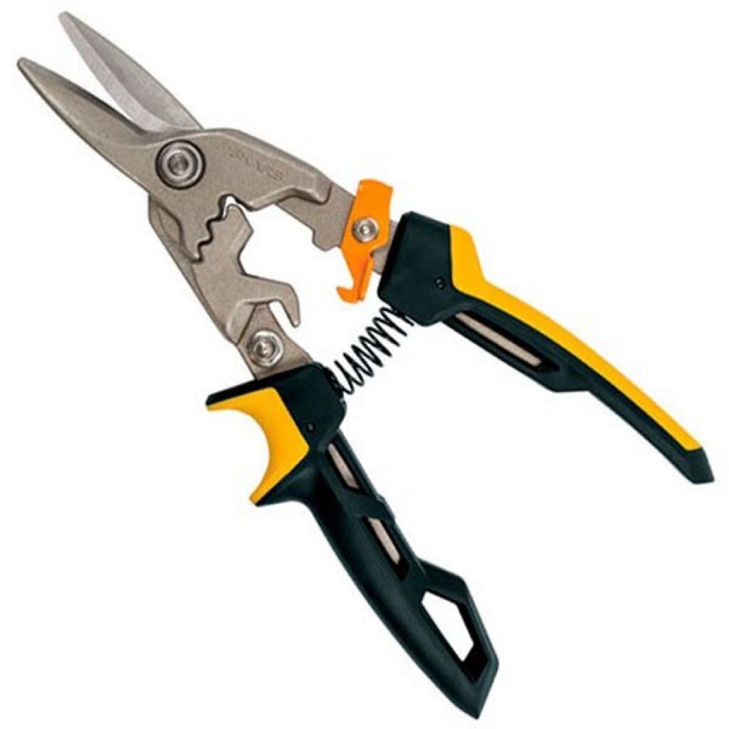 Ножницы по металлу Fiskars PowerGear Aviation Snip (1027207) (1027207)