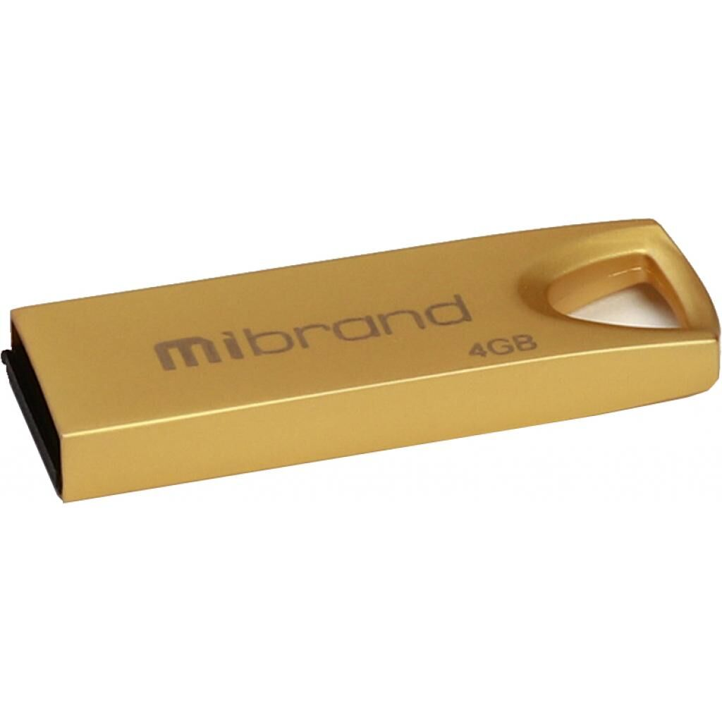 USB флеш накопитель Mibrand 4GB Taipan Gold USB 2.0 (MI2.0/TA4U2G)