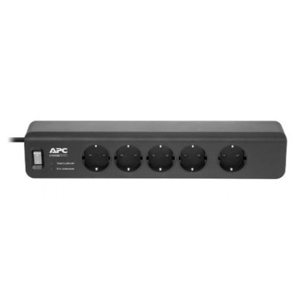 Сетевой фильтр питания APC Essential SurgeArrest 5 розеток (PM5B-RS)