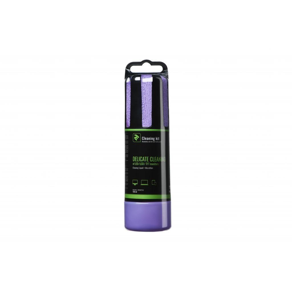 Спрей для очистки 2E 150ml Liquid для LED/LCD +Microfibre21см,Violet (2E-SK150VT)
