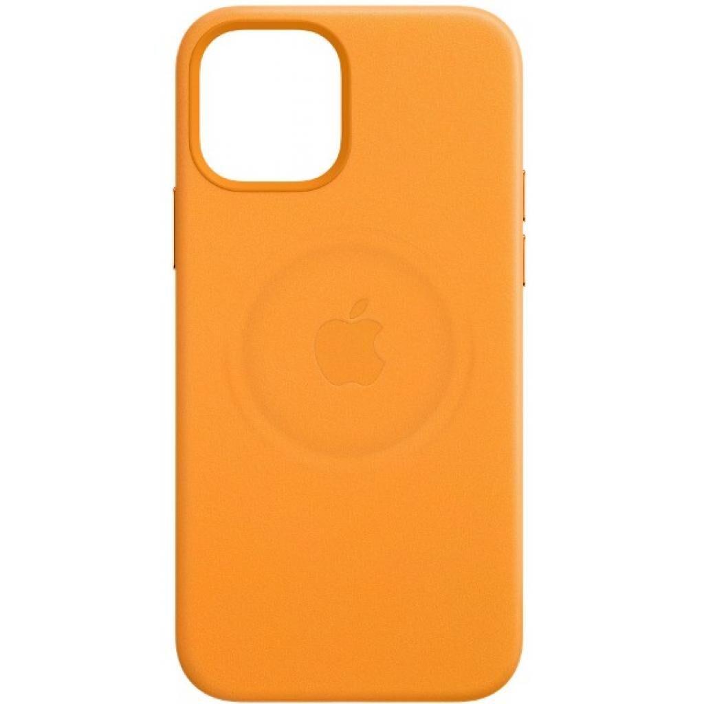Чехол для моб. телефона Apple iPhone 12 mini Leather Case with MagSafe - California Poppy (MHK63ZM/A)