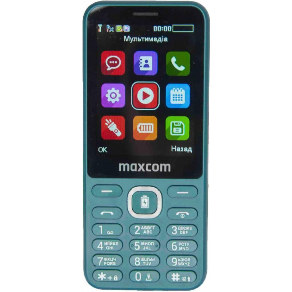 Мобильный телефон Maxcom MM814 Green