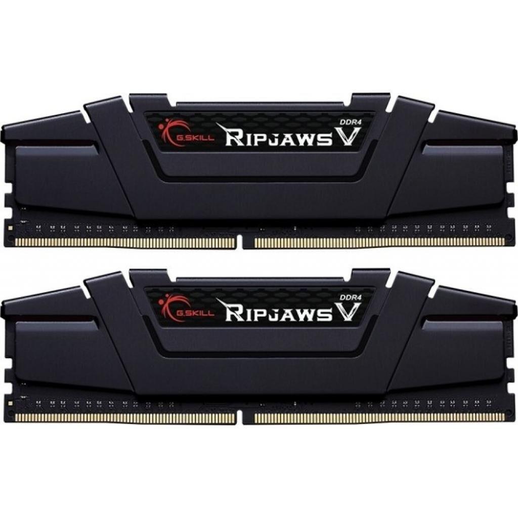 Модуль памяти для компьютера DDR4 64GB (2x32GB) 3600 MHz Ripjaws V G.Skill (F4-3600C18D-64GVK)