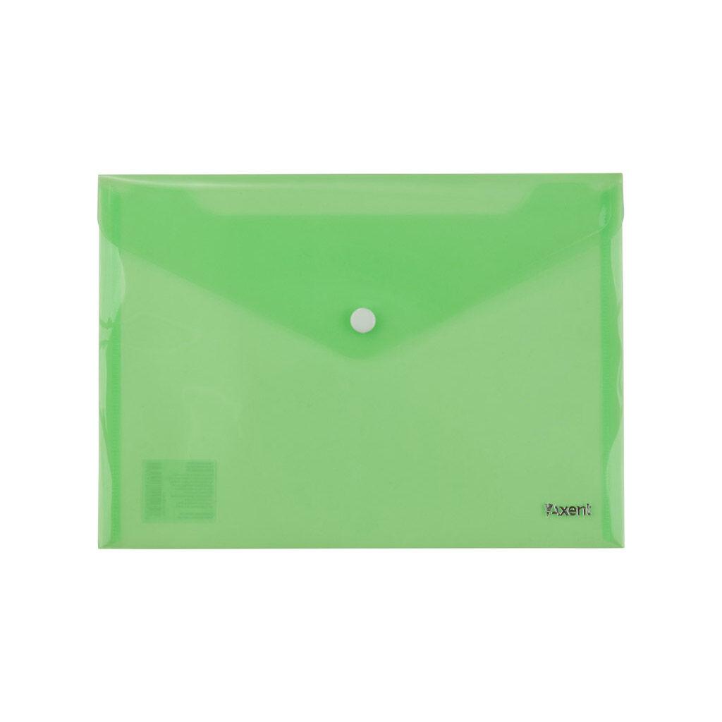 Папка - конверт Axent А5 180мкм Зеленая (1522-25-A)