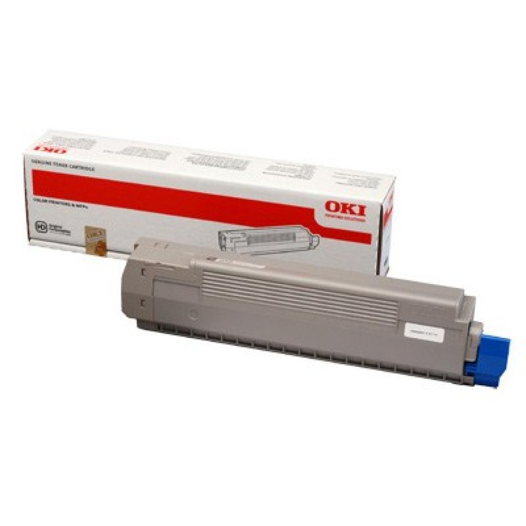 Тонер-картридж OKI C801/C821 Black (44643008)