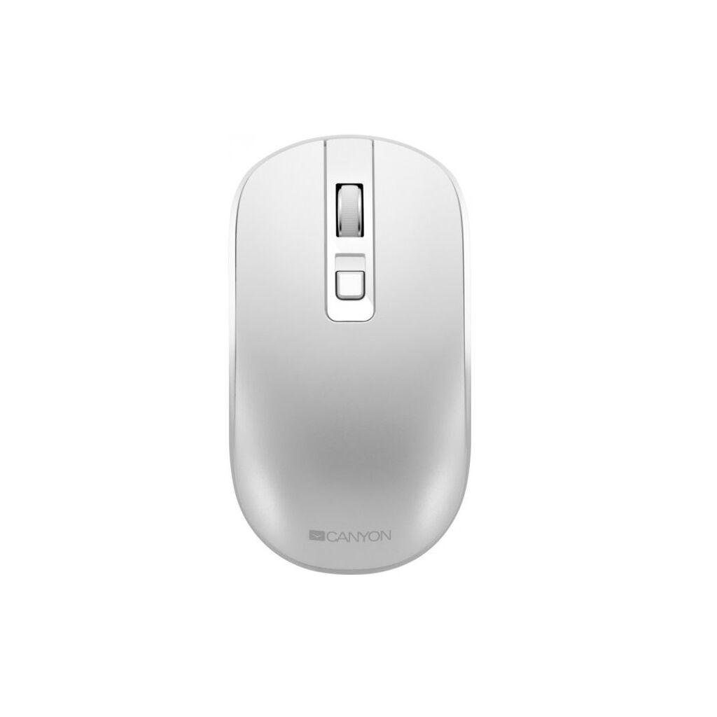 Мышка CANYON CNS-CMSW18PW Wireless White (CNS-CMSW18PW)
