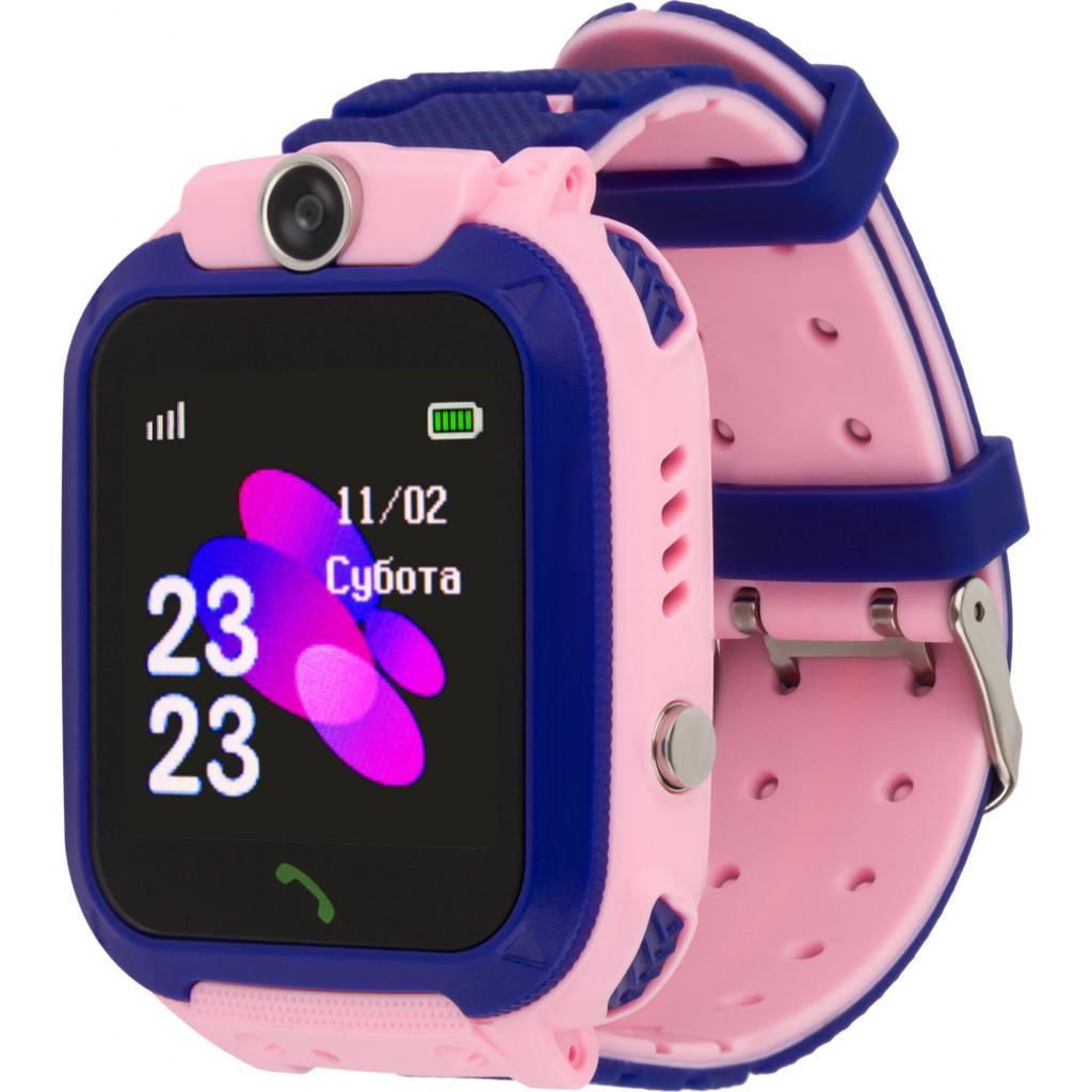 Смарт-часы AmiGo GO002 Swimming Camera WIFI Pink