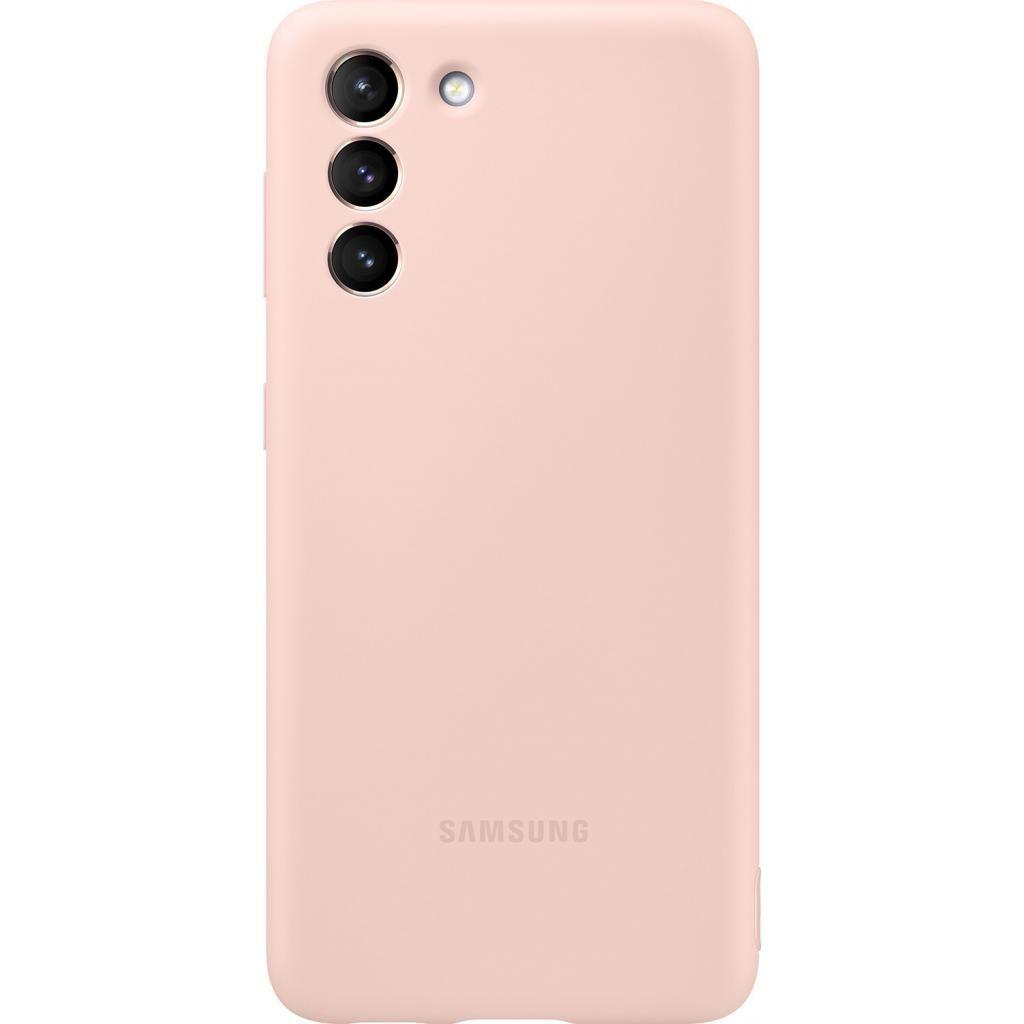 Чехол для моб. телефона Samsung Silicone Cover Samsung Galaxy S21 Pink (EF-PG991TPEGRU)