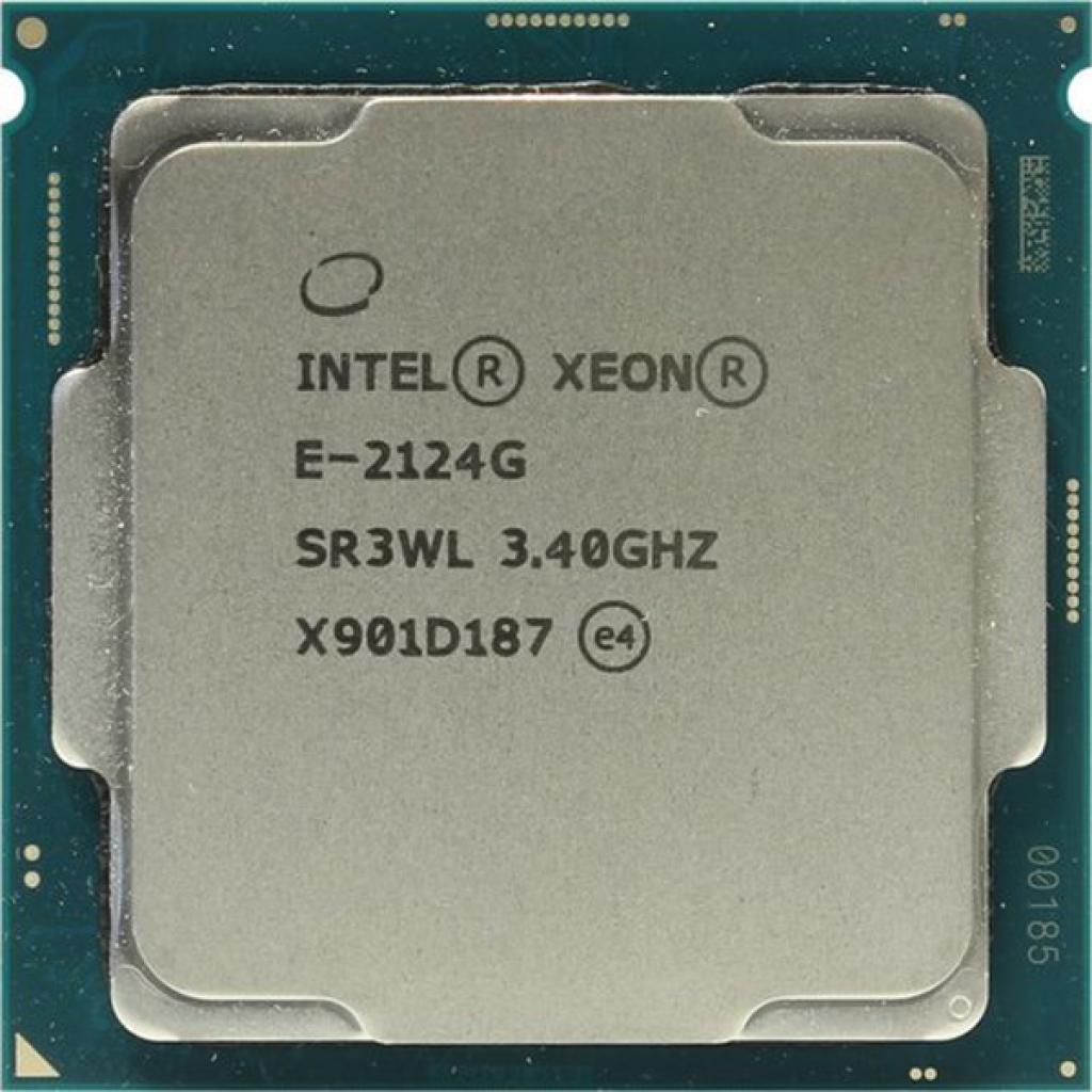 Процессор серверный Dell Xeon E-2124G 4C/4T/3.4GHz/8MB/FCLGA1151/OEM (338-BOSN)