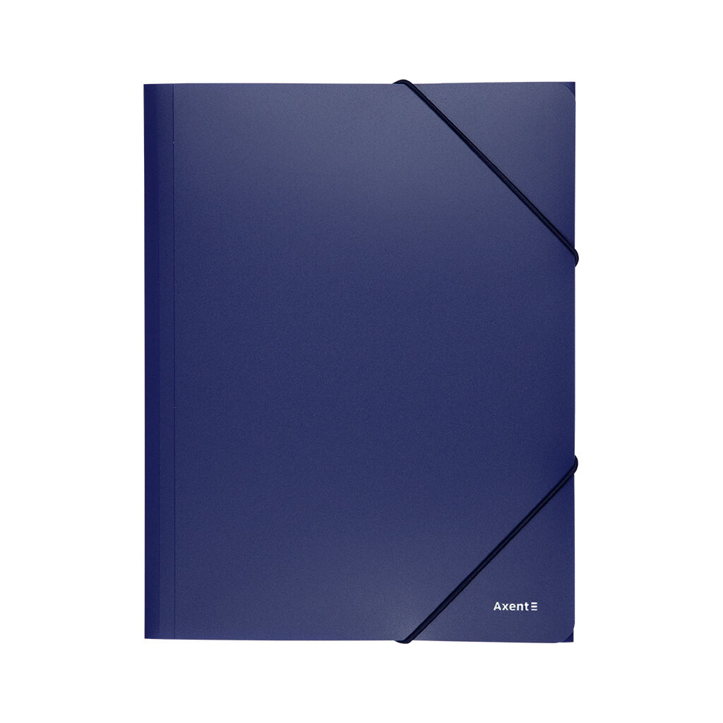 Папка на резинках Axent A4 500 мкм blue (1508-02-A)