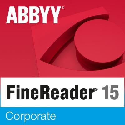 ПО для работы с текстом ABBYY FineReader 15 Corporate (ESD) for personal use (FR15CW-FMPL-X)