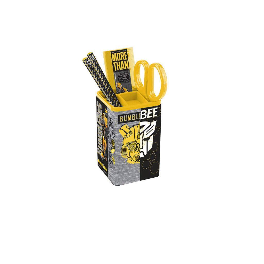Настольный набор Kite Transformers 4 предмета Квадратный Черный (TF19-214)
