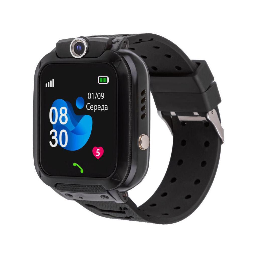 Смарт-часы Amigo GO007 FLEXI GPS Black