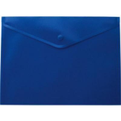 Папка - конверт BUROMAX А4, with a button, blue (BM.3926-02)