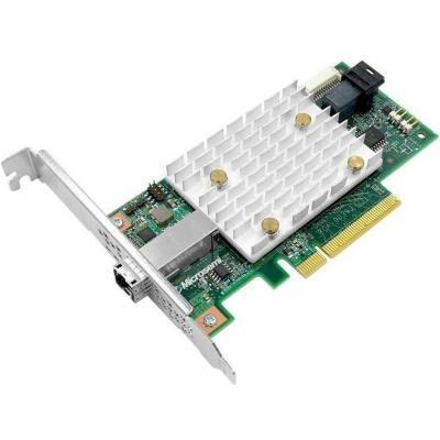 Контроллер RAID Adaptec SmartHBA 2100-4i4e Single 1xSFF-8643, 1xSFF-8644, 8xPCIe (122292200-R/2292200-R)