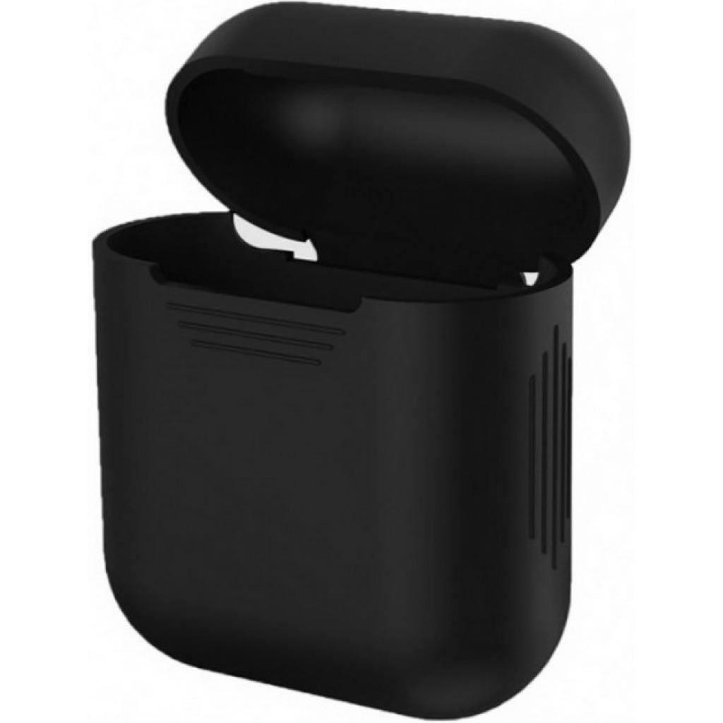 Чехол MakeFuture Apple AirPods Silicone Black (MCL-AA1/2BK)