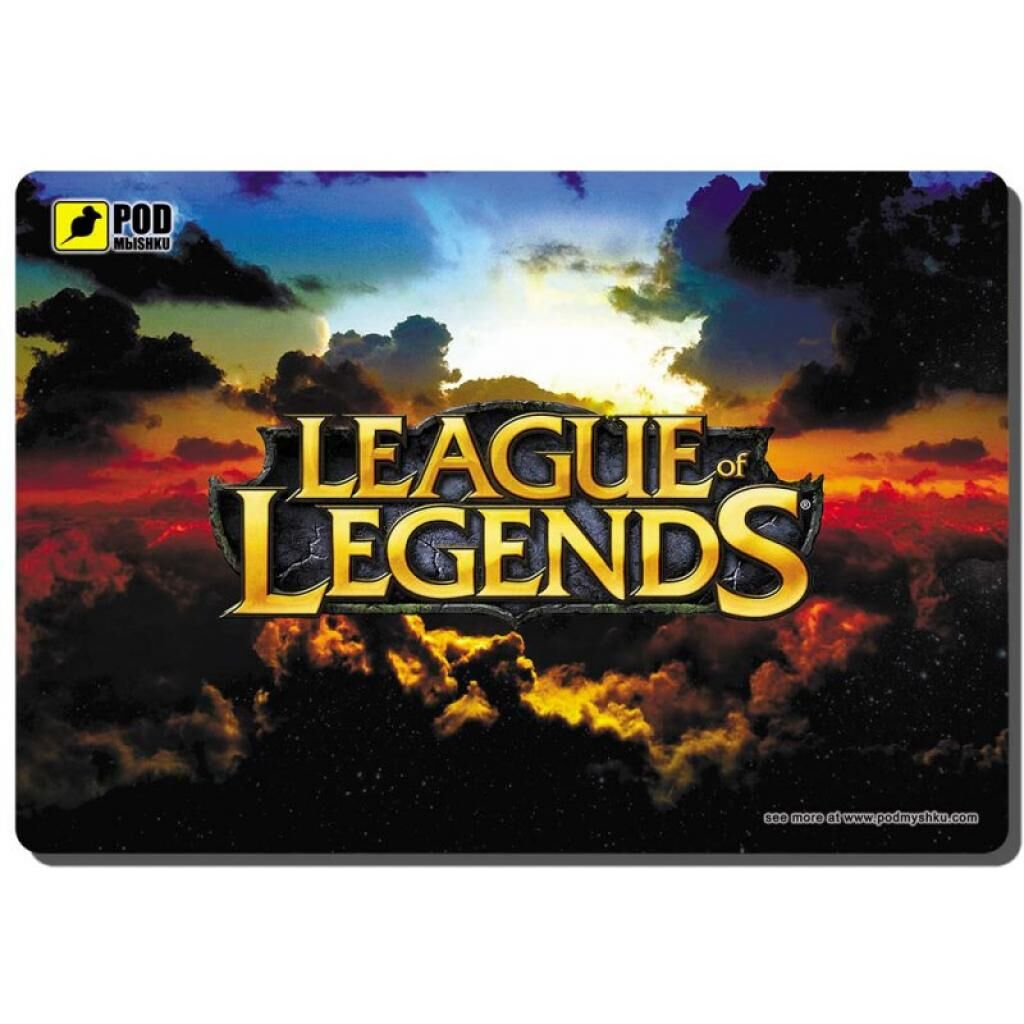 Коврик для мышки Pod Mishkou GAME League of Legends-М