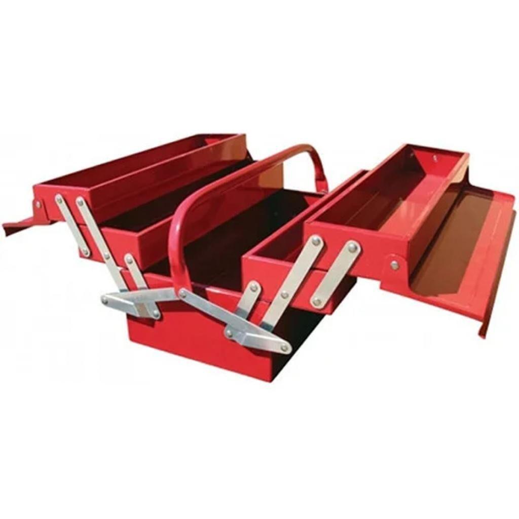 Ящик для инструментов Torin металлический 5 секций 495x200x290 (TBC122B)