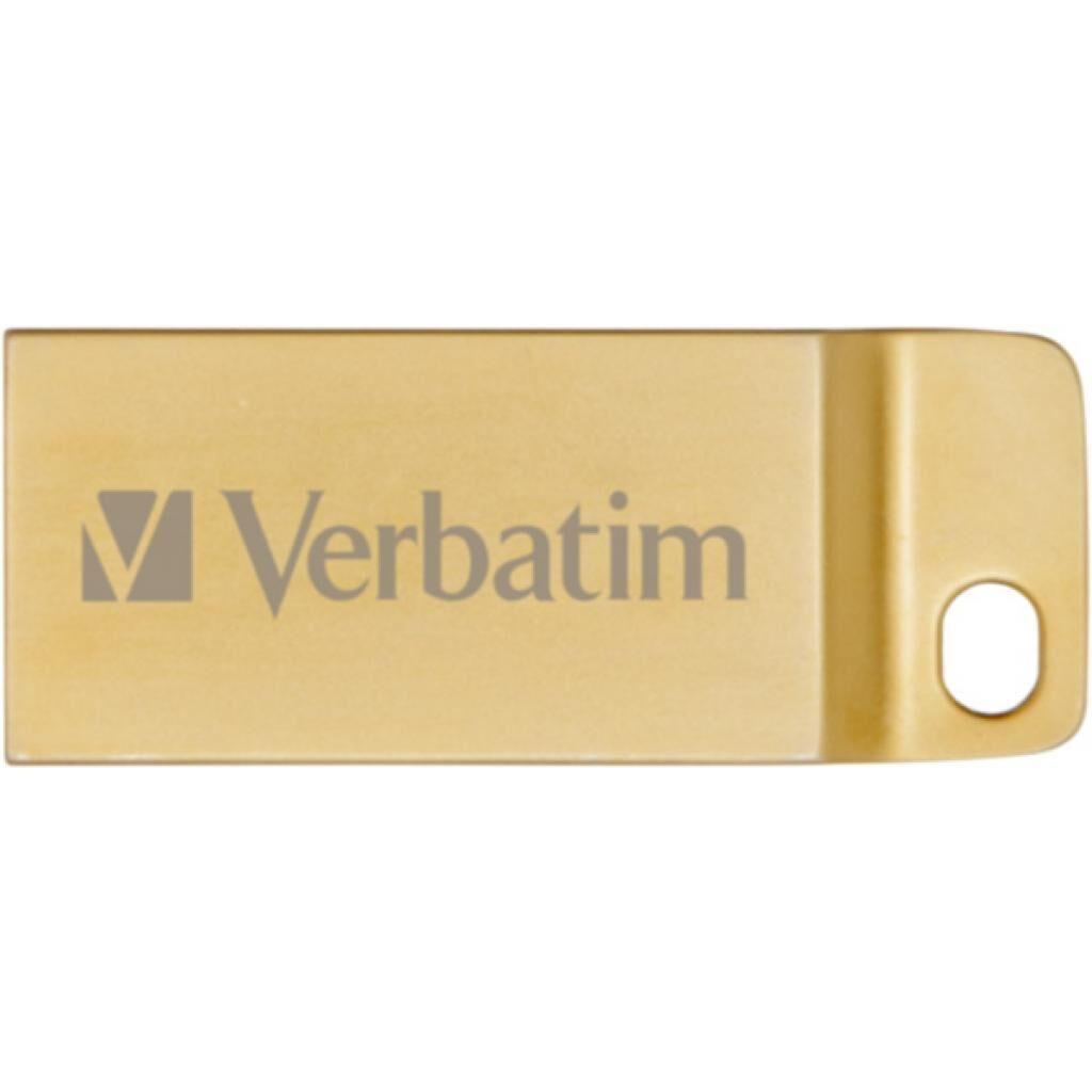 USB флеш накопитель Verbatim 64GB Metal Executive Gold USB 3.0 (99106)